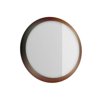 Specchio con illuminazione integrata bagno rotondo Rust L 70 x H 70 cm