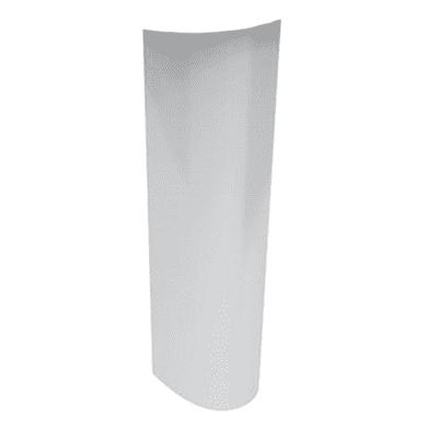 Colonna per lavabo idyl H 62 cm in ceramica bianco