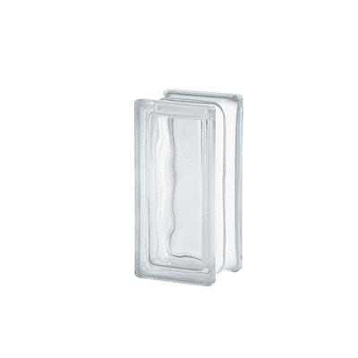 Vetromattone trasparente double face H 19 x L 9.4 x Sp 8 cm 10 pezzi