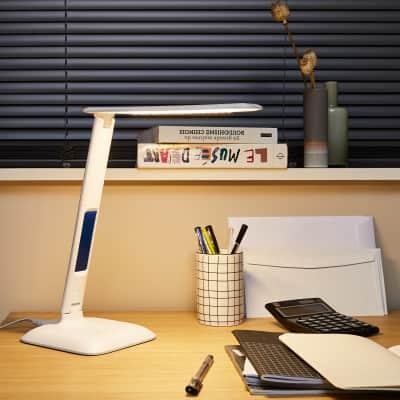 Lampada da scrivania Moderno Alex bianco , INSPIRE