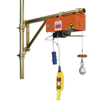 Paranco elettrico portata max 100 kg