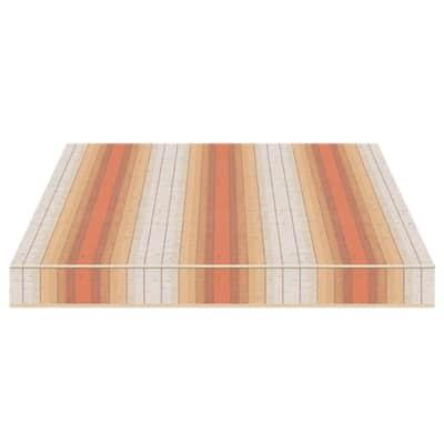 Tenda da sole a bracci estensibili manuale TEMPOTEST PARA' L 240 x H 210 cm arancione, rosso, beige, avorio Cod. 5072/88