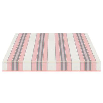 Tenda da sole a bracci estensibili manuale TEMPOTEST PARA' L 2.4 x H 2 m Cod. 5304/15 avorio, azzurro, grigio, rosa