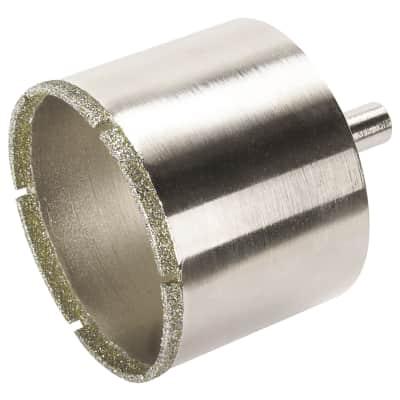 Sega a tazza WOLFCRAFT in diamantato Ø 25 mm