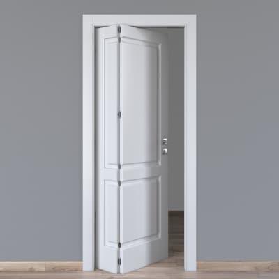Porta pieghevole Dubhe bianco L 70 x H 210 cm sinistra