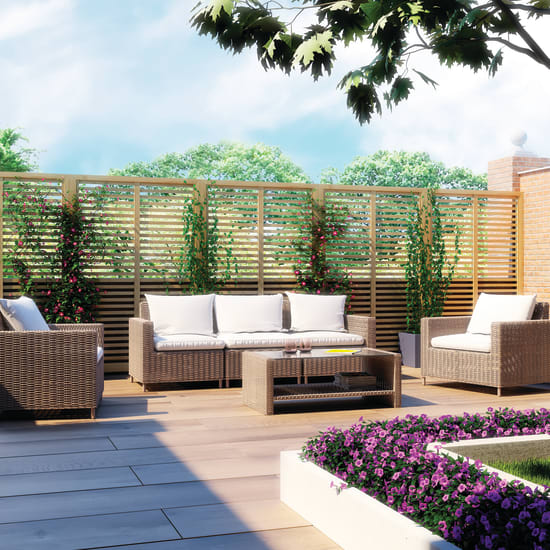Arredo giardino terrazzo e giardinaggio offerte e prezzi for Mobili per terrazzi e giardini