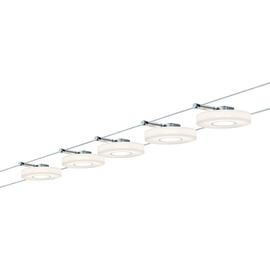 Kit completo di faretti su cavo Set discled I 5 luci