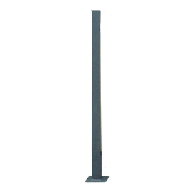 Palo per cancello da tassellare H 180 cm
