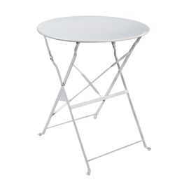 Tavolo pieghevole Color, Ø 60 cm bianco