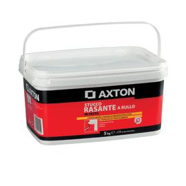 Stucco in pasta Axton Rasante a rullo liscio bianco 5 kg