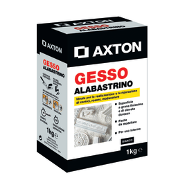 Gesso Axton Alabastrino bianco 1 kg