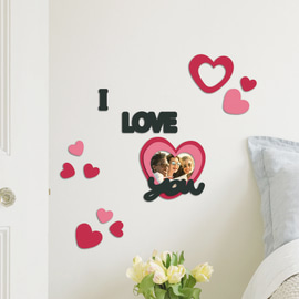 Perfect Sticker Foam S I Love You