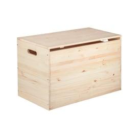 Baule e cassapanca in legno plastica o resina leroy merlin - Divanetti da esterno in legno ...
