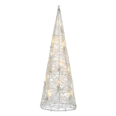 Cono luminoso 16 Led Bianco/classic L 14 x P 14 x H 40 cm