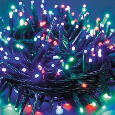 Catena luminosa 750 minilucciole Led multicolore 57 m