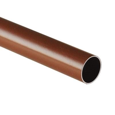 Tubo appendiabiti marrone L 100 cm
