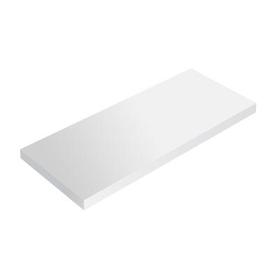 Mensola Spaceo bianco L 96 x P 23,7, sp 2,2 cm