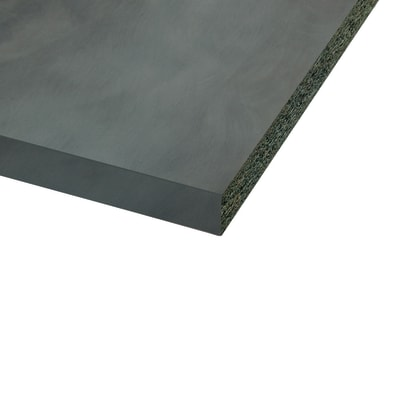 Piano cucina laminato marrone 3.8 x 60 x 304 cm