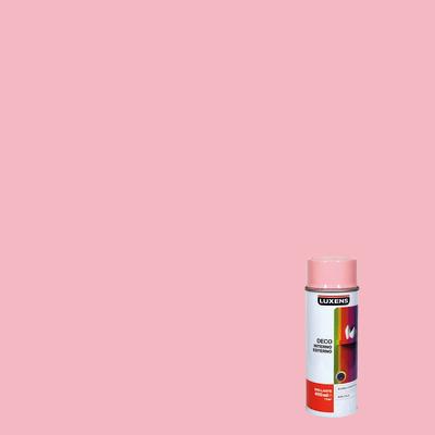 Smalto spray Deco Luxens rosa chiaro RAL 3015 brillante 400 ml