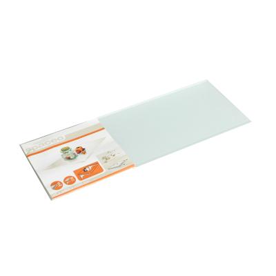 Mensola Spaceo satinata L 90 x P 15, sp 0,5 cm