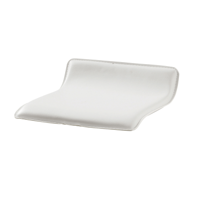 Seduta sgabello bianco