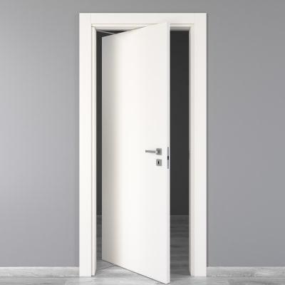 Porta da interno rototraslante Moma bianco 80 x H 210 cm sx