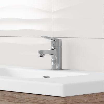 Mobile bagno Elea rovere L 122 cm