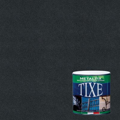 Smalto per ferro antiruggine Tixe Metaltix antracite antichizzato 0,25 L