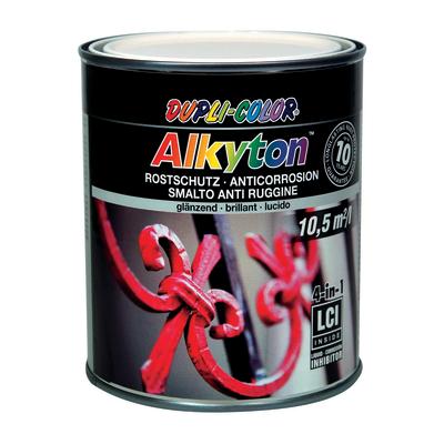 Smalto per ferro antiruggine Alkyton bianco RAL 9001 brillante 0,75 L