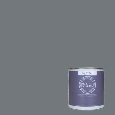 Smalto manounica Fleur Eggshell all'acqua smoky satinato 0.75 L