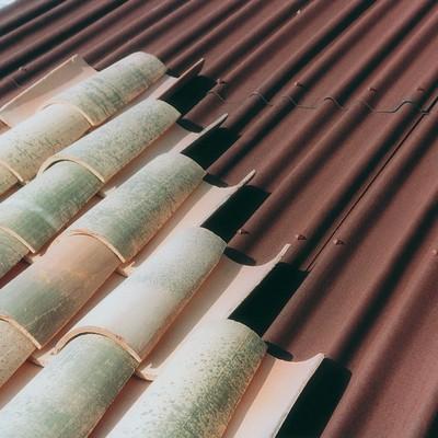 Lastra sottocoppo Onduline SC 220 testa di moro in bitume 97 x 200  cm, spessore 2,6 mm