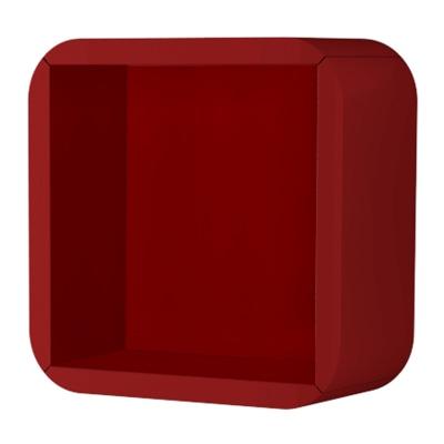 Pensile a giorno Liverpool rosso L 32 x H 32 x P 15 cm