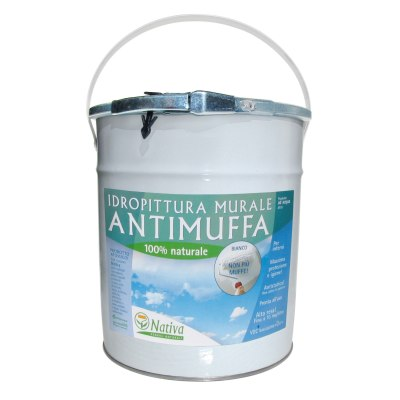 Idropittura antimuffa bianca Nativa Bio 3,5 L