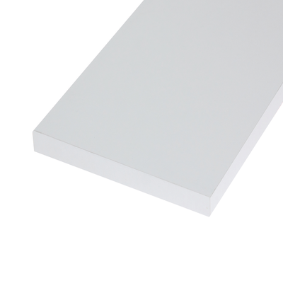 Pannello melaminico bianco 25 x 600 x 1000 mm