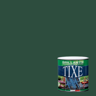 Smalto per ferro antiruggine Tixe Brillantix verde brillante 0,25 L