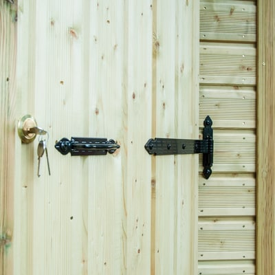 casetta in legno Flamy 3,6 m², spessore 19 mm
