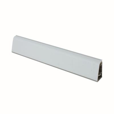 Alzatina su misura alluminio bianco H 3 cm