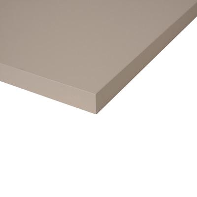 Alzatina su misura alluminio Beige Luxor H 3 cm