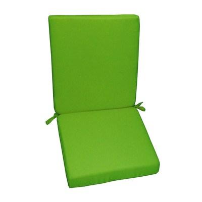 Cuscino schienale basso verde chiaro 89 x 40 cm