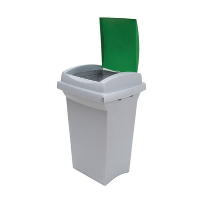 Pattumiera Recycling 50 L verde