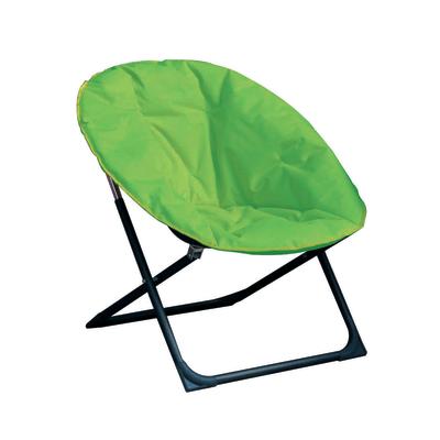 Poltrona pieghevole Relax imbottita verde