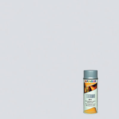 Smalto spray Thermo alte temperature argento opaco 400 ml