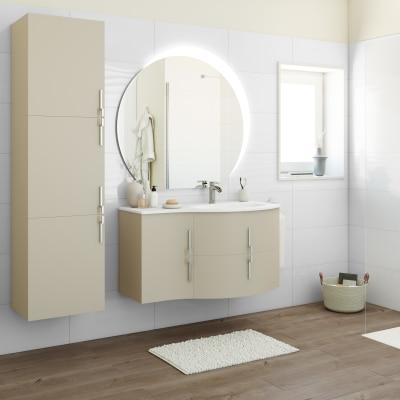 Mobile bagno Sting grigio natura L 104 cm