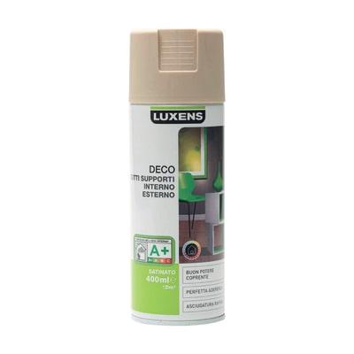 Smalto spray Deco Luxens Grigio Dorato 5 satinato 400 ml