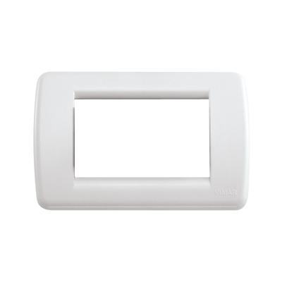 Placca 3 moduli Vimar Idea bianco