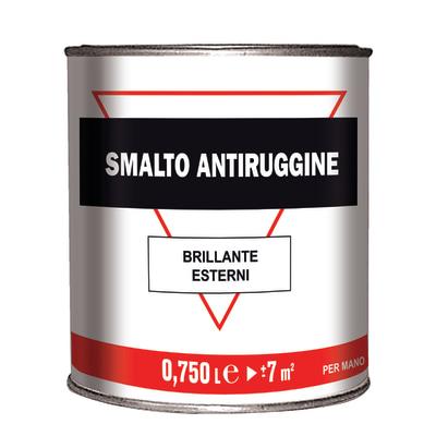 Smalto per ferro antiruggine verde brillante 0,75 L