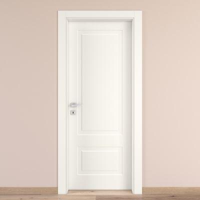 Porta da interno battente Shibuya bianco 80 x H 210 cm dx