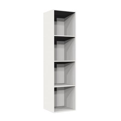 Struttura Multikaz bianco L 31,7 x P 35,2 x H 137,2 cm