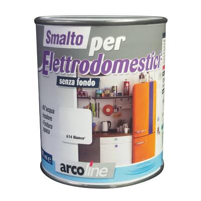 Smalto Elettrodomestici Arcoline 606 grigio argento opaco 0,5 L