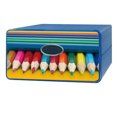 Cassettiera Qbox Colori assortiti